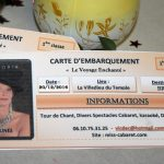 carte embarUEMENT